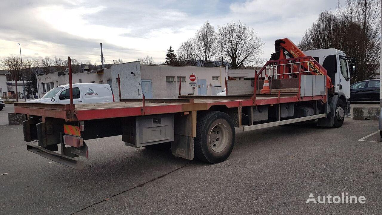 RENAULT Prémium 320 DCi porte fer platform truck